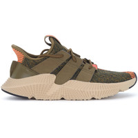 Shoes Men Low top trainers adidas Originals Prophere green and orange knit sneaker Green