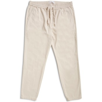 Clothing Men 5-pocket trousers The Idle Man Cropped Elasticated Waist Trousers Stone Other
