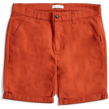 Clothing Men Shorts / Bermudas The Idle Man Chino Shorts Brown Brown