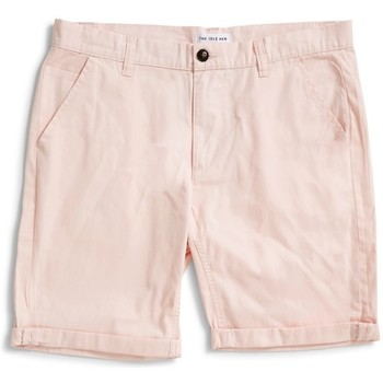 Clothing Men Shorts / Bermudas The Idle Man Chino Shorts Washed Pink Pink