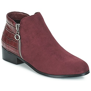 Shoes Women Mid boots Moony Mood JADE Red