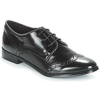 Shoes Women Derby Shoes Moony Mood JENNY Black
