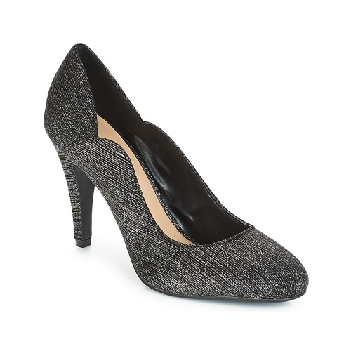 Shoes Women Heels Moony Mood JANNEE Black / Silver