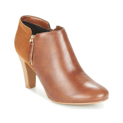 Shoes Women Shoe boots Moony Mood FADI Camel