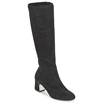 Shoes Women High boots Moony Mood JORDANA Black