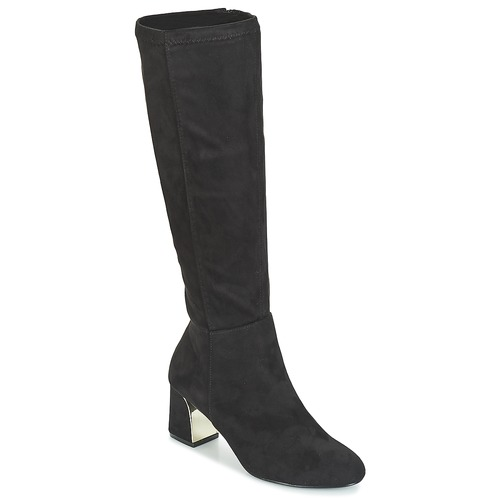 Shoes Women High boots Moony Mood JORDANA Black