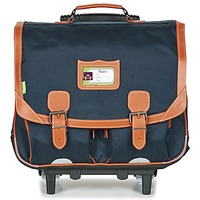 Bags Boy Rucksacks / Trolley bags Tann's CAMILLE TROLLEY CARTABLE Marine