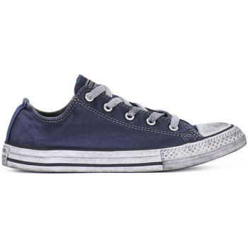 Shoes Boy Low top trainers Converse ALL STAR LO CANVAS LTD NAVY Blu