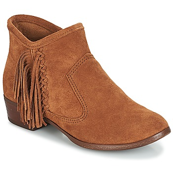Shoes Women Ankle boots Minnetonka BLAKE BOOT Camel