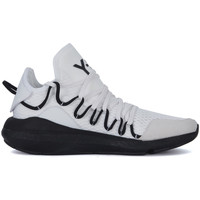 Shoes Men Low top trainers Y-3 Kusari white mesh and leather sneaker White
