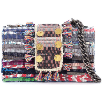 Bags Women Shoulder bags Kooreloo New Yorker Soho braided multicolor fabrics shoulder bag Multicolour