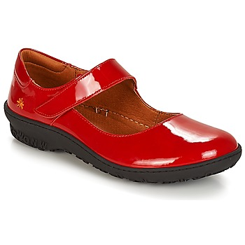 Shoes Women Flat shoes Art ANTIBES Red