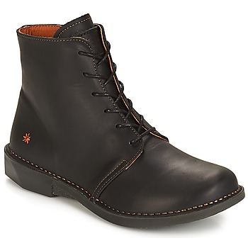 Shoes Women Mid boots Art BERGEN Black