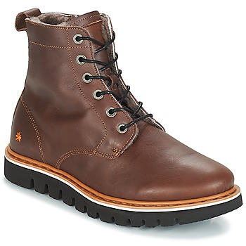 Shoes Men Mid boots Art TORONTO Brown