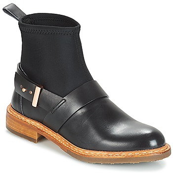 Shoes Women Mid boots Neosens CONCORD Black