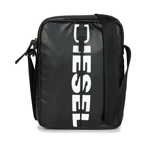Bags Men Pouches / Clutches Diesel BOLD SMALL CROSS Black