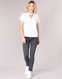 Clothing Women slim jeans Diesel BABHILA Grey / 084vq