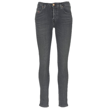 Clothing Women Slim jeans Diesel BABHILA Grey / 084vq