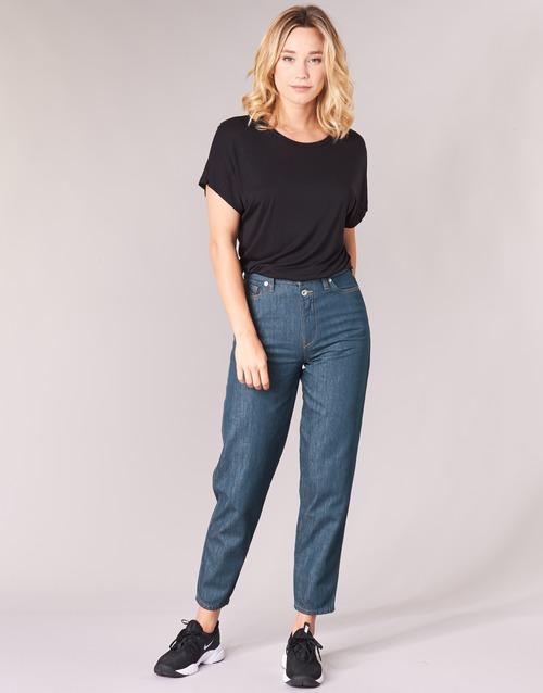 Clothing Women straight jeans Diesel ALYS Blue / 084ur