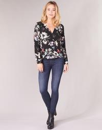 Clothing Women Skinny jeans Diesel SLANDY Blue / 681g
