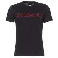 Clothing Men Short-sleeved t-shirts Diesel JAKE Black