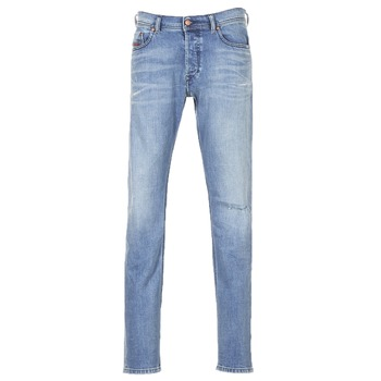 Clothing Men Slim jeans Diesel TEPPHAR Blue / 084vi