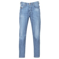 Clothing Men straight jeans Diesel MHARKY Blue / 084uj