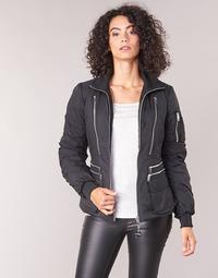 Clothing Women Duffel coats Diesel W-BLANKYT Black