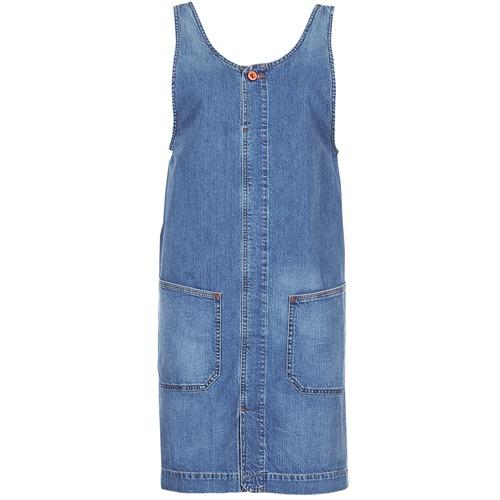 Clothing Women Short Dresses Diesel DE DATY Blue