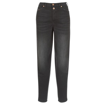 Clothing Women Straight jeans Diesel ALYS Black