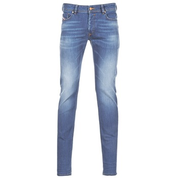 Clothing Men Skinny jeans Diesel SLEENKER Blue
