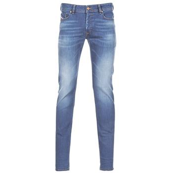 Clothing Men Skinny jeans Diesel SLEENKER Blue