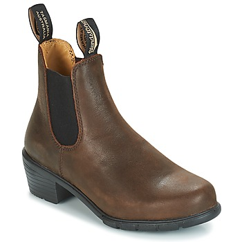 Shoes Women Mid boots Blundstone WOMEN'S HEEL CHELSEA BOOT 1673 Brown