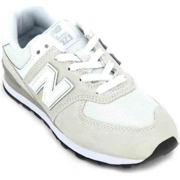 Shoes Children Low top trainers New Balance PC574 Child Sneakers white