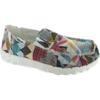 Shoes Men Loafers Hey Dude Farty Print Incas Etno Grey