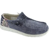 Shoes Men Shoes Hey Dude Wally Funk Etno Blue
