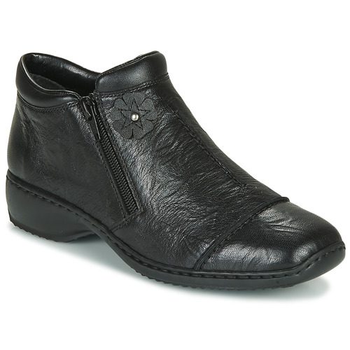 Shoes Women Shoe boots Rieker DORAN Black