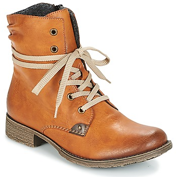 Shoes Women Mid boots Rieker DERLMA Cayenne red