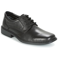 Shoes Men Derby Shoes Rieker SIRREA Black