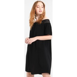 Clothing Women Short Dresses Jacqueline De Yong VESTIDO  JDYFAME OFFSHOULDER S/S DRESS NEGRO