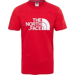Clothing Men short-sleeved t-shirts The North Face Easy Camiseta ROJO