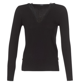 Clothing Women jumpers Guess BETH Black
