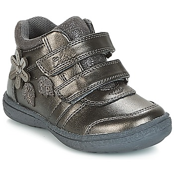 Shoes Girl Hi top trainers Chicco CELESTINA Grey