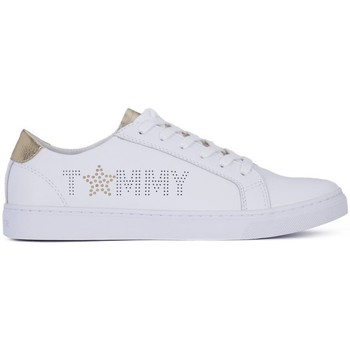 Shoes Women Low top trainers Tommy Hilfiger Tommy Star White