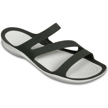 Shoes Women Sandals Crocs Swiftwater Womens Casual Sandals grey