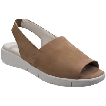 Shoes Women Sandals The Flexx Easy Row Nubuck Womens Sling Back Sandals brown