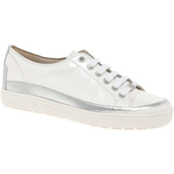Shoes Women Low top trainers Caprice Star Womens Casual Lace Up Trainers white