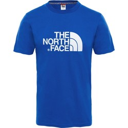 Clothing Men short-sleeved t-shirts The North Face Easy Camiseta AZUL