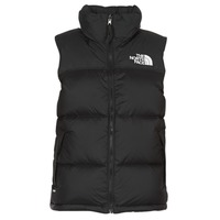 Clothing Women Duffel coats The North Face NUPTSE VEST Black
