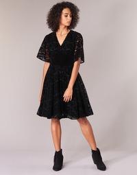 Clothing Women Short Dresses Derhy DAMOISELLE Black